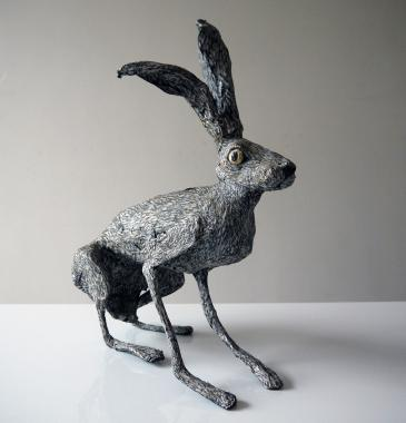 Hybrid Gallery Val George Sitting Hare