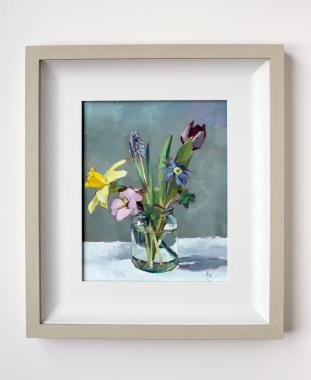 Spring Flowers In A Jam Jar Hybrid Gallery