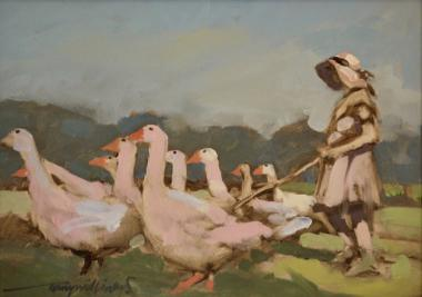 Hybrid Gallery Tony Williams Herding Geese