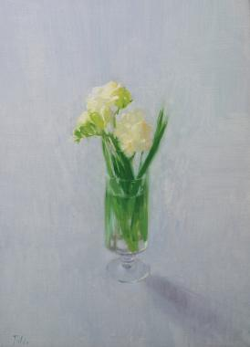 Hybrid Gallery Annika Talsi White Freesias