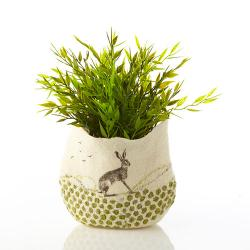 Hare Pot Cover or Vase