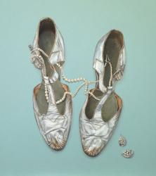 Dancing Shoes with Pearls