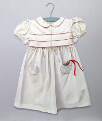 Party Dress with Brass Rattle