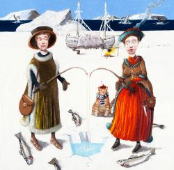 Hybrid Gallery Richard Adams Bound by Ice