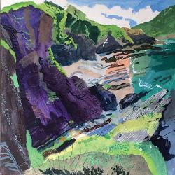 Hybrid Gallery Mark Rochester Purple Cliffs