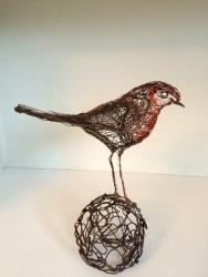 Hybrid Gallery Celia Smith Robin Perching