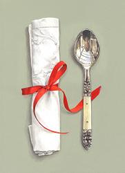 Hybrid Gallery Rachel Ross Pudding Spoon with Red Ribbon
