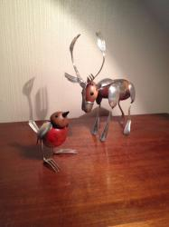 Robin and Reindeer