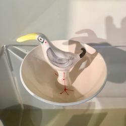 Small Bird Dip Bowl