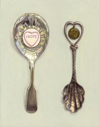 Spoons with Love Heart