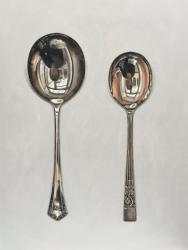 Hybrid Gallery Rachel Ross Two Round Spoons