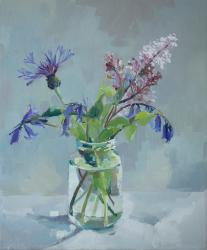 Hybrid Gallery Annie Waring Lilac, Cornflower and Bluebells
