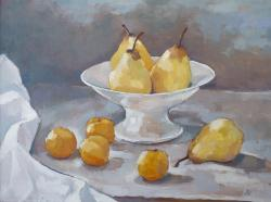 Hybrid Gallery Annie Waring Golden Plums and Pears II