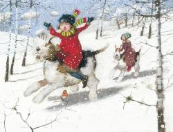 Hybrid Gallery Richard Adams Winter Gallop