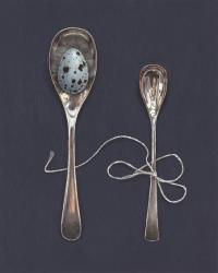 Hybrid Gallery Rachel Ross Mustard Spoons with Egg and Silk