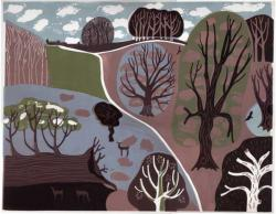 Hybrid Gallery Melvyn Evans View with a Fallen Tree