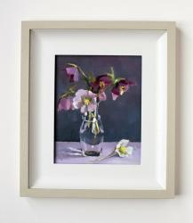 Hybrid Gallery Annie Waring Hellebores in a Flask
