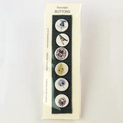 Hybrid Gallery Caroline Barnes Six mixed buttons