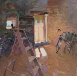 Hybrid Gallery Richard Sowman Bicycle, Ladder