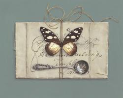 Hybrid Gallery Rachel Ross Tied Letter with Butterfly
