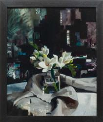 Hybrid Gallery Jon Doran Digital Freesias and Linen