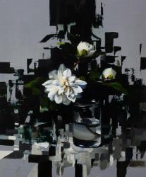 Hybrid Gallery Jon Doran Fragmented Camellia and Grey