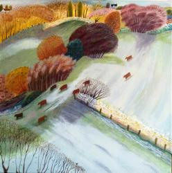 Hybrid Gallery Debbie Lush Frosty Morning Keeping Warm