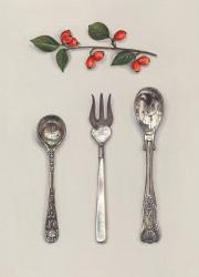Hybrid Gallery Rachel Ross  Flatware with Berries