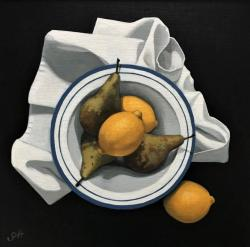 Hybrid Gallery Gill Hamilton Lemons and Pears on White
