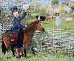 Hybrid Gallery Richard Adams The Post Woman
