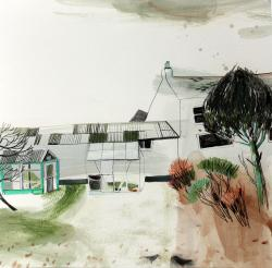 Hybrid Gallery Jane Askey Two Greenhouses Two Blackbirds