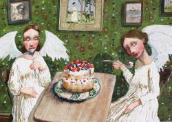 Hybrid Gallery Richard Adams Angel Cake