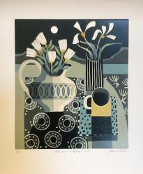Hybrid Gallery Jane  Walker Moon and Striped Vase
