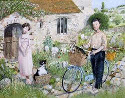 Hybrid Gallery Richard Adams The Dusky Pink Dress
