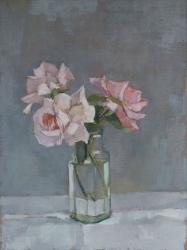 Hybrid Gallery Annie Waring Three Roses in a Jar
