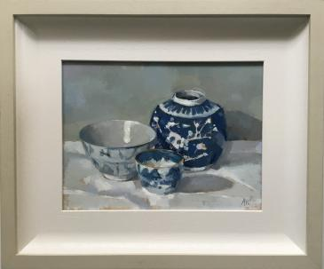 Hybrid Gallery Annie Waring Chinese Blue and White Study