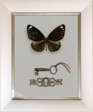 Hybrid Gallery Rachel Ross Butterfly with Key and Escutcheon