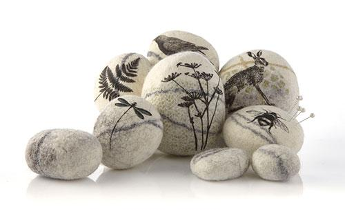 Felted Pebbles