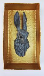 No.140 Hare in a Golden Box