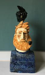 Hybrid Gallery Joe Lawrence Redbeard with a Crow